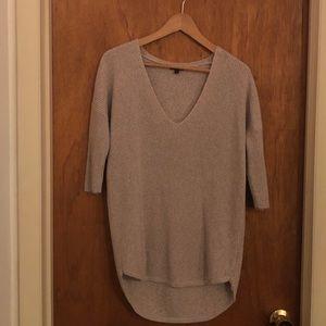 Express long 3/4 length sweater